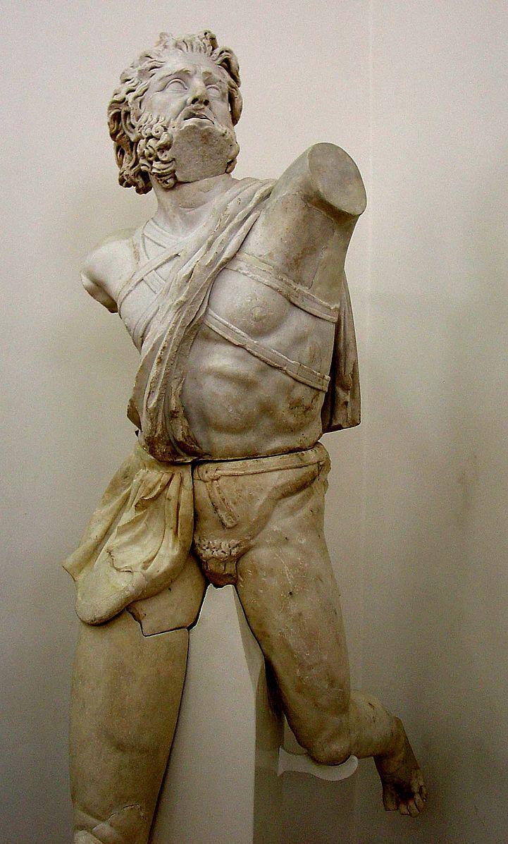 Daedalus Marble Statue in Amman