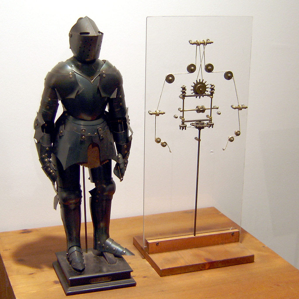 Da Vinci's mechanical knight