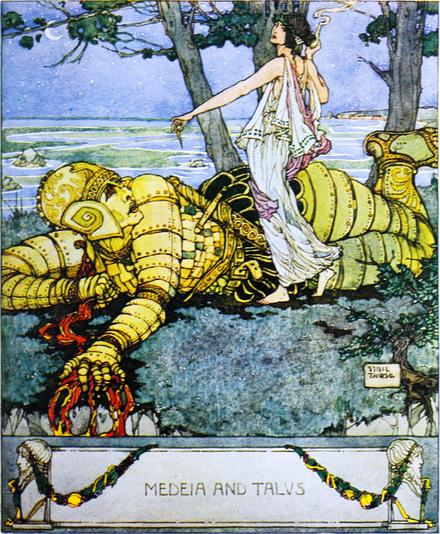 Medeia and Talos